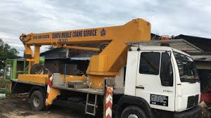 suriya mobile crane service penang malaysia crane service in