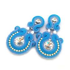 soutache earrings soutache earrings statement earrings sabo design