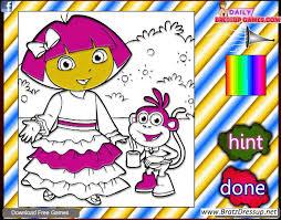 dora color game 2 bratz u0027 blog