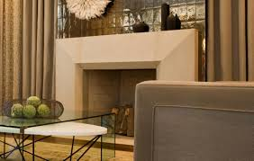 contemporary limestone fireplace surrounds round designs