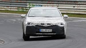 opel toyota 2017 opel insignia spied inside u0026 out on the nürburgring