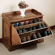 uncategorized creative shoes storage solution in home interior