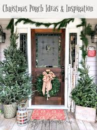 Cottage Front Porch Ideas by Cottage Christmas Front Porch Ideas Cottage In The Oaks