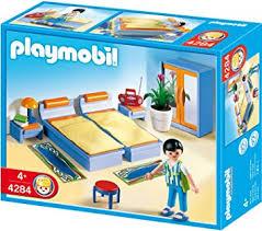 chambre playmobil playmobil 4284 jeu de construction chambre des parents amazon