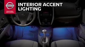 2016 nissan maxima youtube interior accent lighting genuine nissan accessories youtube