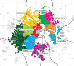 Dallas Fort Worth Area Map by Beyond Dallas Say Yes To Dallas