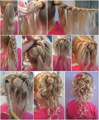 Simple Girls Hairstyles by Wonderful Diy Feather Braided Bun Hairstyle Updo Feather Braid