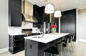 cuisine noir cuisine blanc et noir cuisine blanche noir et bois massilia