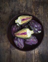 cuisiner les artichauts violets petits artichauts violets à l italienne pour 4 personnes