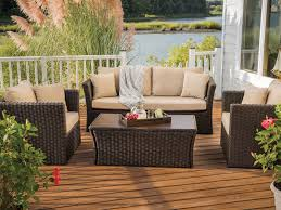 Agio Wicker Patio Furniture Outdoor Deep Seating Sets Outdoor Sofas Chairs U0026 Lounge