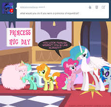My Little Pony Know Your Meme - princess hug day my little pony friendship is magic know your meme