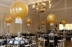 gold centerpieces balloon centerpieces balloon artistry