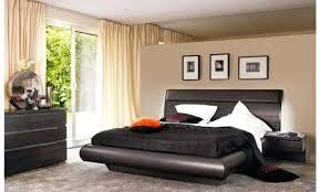 chambre à coucher contemporaine chambre bois massif contemporain lit contemporain bois massif lit