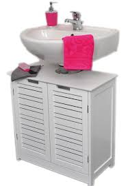 non pedestal under sink storage vanity cabinet miami white