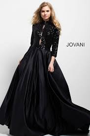 Formal Dresses With Pockets Jovani 55321 A Line Evening Gown With Pockets Madamebridal Com