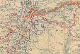 map of oregon freeways oregon s highways and routes
