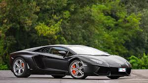 Black Lamborghini Aventador - lamborghini aventador matte black wallpaper 1920x1080 14975