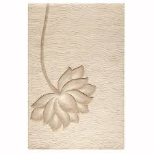home decorators area rugs home decorators collection blooms white and beige 8 ft x 11 ft