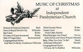 the choir of the independent presbyterian church memphis