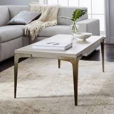 West Elm Coffee Table Brass Concrete Coffee Table West Elm Uk