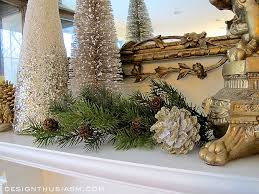 Elegant Christmas Mantel Decorations by Decorating A Holiday Mantel With Casual Elegance