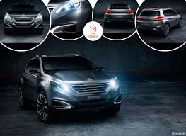 peugeot suv concept 2012 peugeot urban crossover concept caricos com