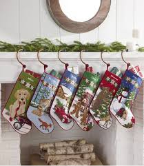 amazon com christmas stockings with bear skiing can be