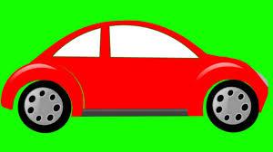cartoon car cartoon car animation green screen free stock footage youtube