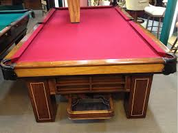 regulation pool table for sale sold pre owned brunswick antique madison 9ft regulation pool table