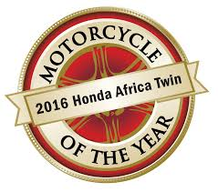 honda logos motorcycle of the year 2016 honda crf1000l africa twin
