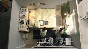 Ikea Schlafzimmer Deutschland Ikea Quadratmeterchallenge Winziges Schlafzimmer Für Zwei Youtube