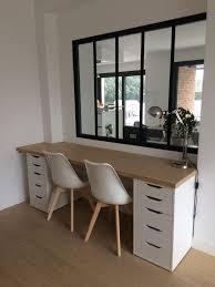 bureau angle bois ikea bureau angle tagre bois ikea cheap cool etagere salle de