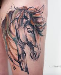horse tattoos archives inkstylemag