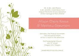 garden wedding invitation ideas wedding invitations for outdoor wedding gallery party