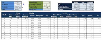 car report template exles car fleet management