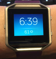 fitbit blaze first look review less of a better me