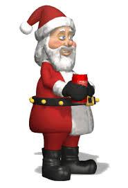 animated santa animated santa gif christmas animations coke