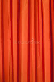 Red Orange Curtains Orange Curtains Royalty Free Stock Images Image 23666479