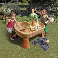 step 2 sand and water table step2 dino dig sand and water play table toys r us