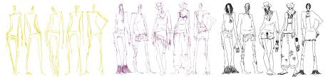 How To Draw Fashion Designs Drawing Fashion Figures By Klindicative On Deviantart
