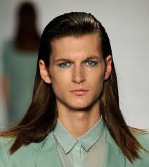 long hairstyles men with slicked latest men haircuts