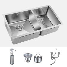 Mm Radius Stainless Steel Kitchen Double Sink - Kitchen double sink