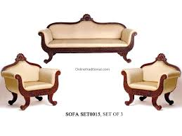 Solid Teak Wood Furniture Online India Teak Wood Sofa Sets Traditional U0026 Carving Sofa Sets Pearl