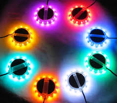 Led Lights For Motorcycle Single Color Motorcycle Led Wheelz From Radiantz