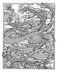 complex coloring pages of dragon coloringstar