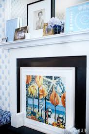 Diy Fireplace Cover Up 28 Best Unused Fireplace Ideas Images On Pinterest Fireplace