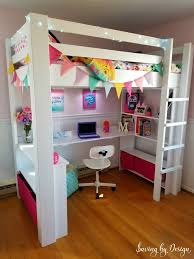 Bunk Bed With Storage And Desk Diy Loft Bed How To Build A Loft Bed With Desk And Storage