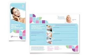 healthcare brochure templates free healthcare brochure templates free spa brochure