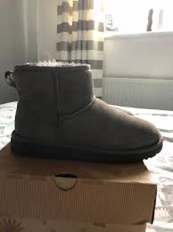 s grey ankle ugg boots grey ankle ugg boots size 5 5 in pendlebury manchester gumtree