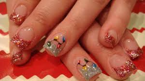 nails beauties merry christmas acrylic nails